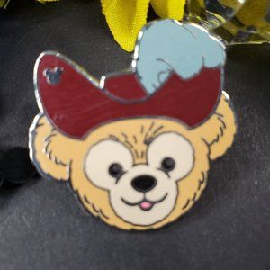 4/$25 Disney Hidden Mickey Captian Hook Duffy Pin